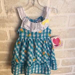 NWT 12 month old girls young land dress